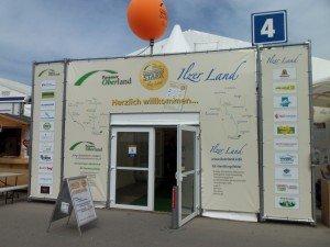 Halle der ILE Passauer Oberland und ILE Ilzer Land an der Dreiländermesse 2014