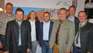 Ratsversammlung 2015 in Neukirchen vorm Wald: Die federführenden Akteure der ILE Passauer Oberland