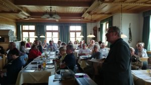 Kooperation mit der Seniorenakademie Bayern: Rund 60 Seminarbesucher aus fast ganz Bayern in Ruderting