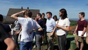 Auch im Fürstensteiner Pfarrgarten ist im Rahmen des Studentenprojekts im Handlungsfeld Ortsentwicklung eine Konzeption geplant
