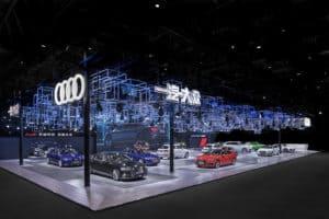 Referenzbeispiel der Fa. Metron: Audi | Auto Peking 2018